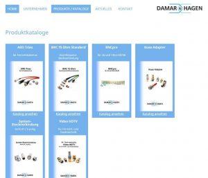 Produktkataloge Homepage Damar & Hagen