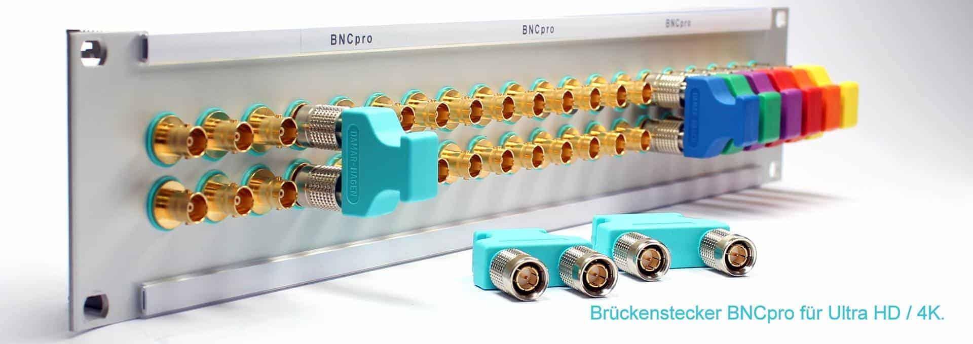 BNCpro-Brückenstecker-Slide